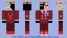RR purple ribbon Minecraft Skin
