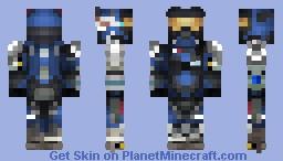 Carter-A259 | Noble Team | Halo: Reach | 1.8+ Minecraft Skin