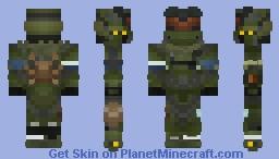 Jun-A266 | Noble Team | Halo: Reach | 1.8+ Minecraft Skin
