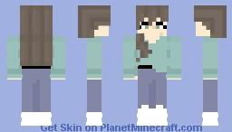 Human Girl Minecraft Skin