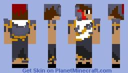 broken armor Minecraft Skin