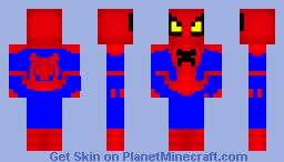 The Amazing Spiderman Minecraft Skin
