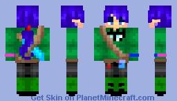 Elf Warrior/Citizen Minecraft Skin