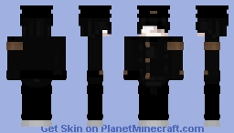 Korro - Gakuran Minecraft Skin