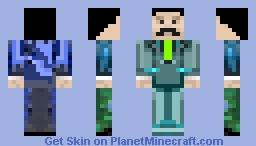 blue mumbo jumbo Minecraft Skin
