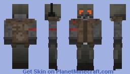 HL2 Beta | Concept Art Combine Soldier 2.0 Minecraft Skin