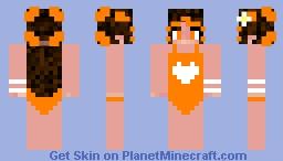 girl in bathing suit Minecraft Skin