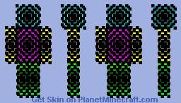 Neon Particle by _-NinjaCatgirl-_ Minecraft Skin