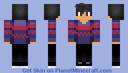 Aaron Christmas Aphmau skin Minecraft Skin
