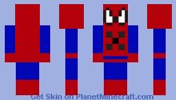 spider-man tommy playz Minecraft Skin