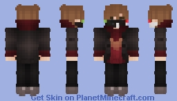 lis: true colors ranboo (that one outfit lol) Minecraft Skin