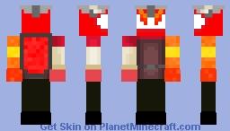 CC red boss Minecraft Skin