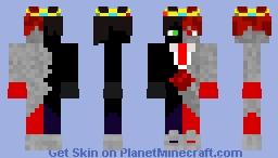 Cyborg Ranboo Minecraft Skin