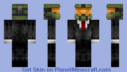 Master Chief's New Suit Minecraft Skin