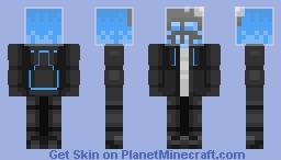 Blue Poison Minecraft Skin