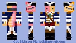 l manberg axolotl Minecraft Skin