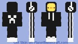 Black Hoodie Duck Minecraft Skin