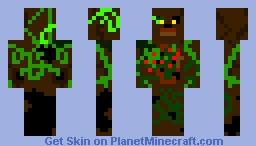 Wooden Freddy Minecraft Skin