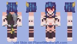 Dizzy Guilty Gear Xrd Minecraft Skin