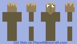 Crazy villager Minecraft Skin