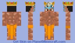 Hail Lord Helix ( Omanyte Crown) Minecraft Skin