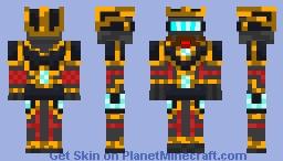 Dwarven Gear Cyborgian Minecraft Skin