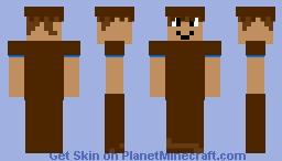 wood armor guy update Minecraft Skin