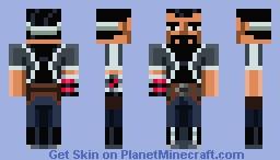 Bruno X Skin Minecraft Skin