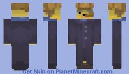 Gangster Bear Wafflebear Fanart [shading collab with moltenoni] Minecraft Skin