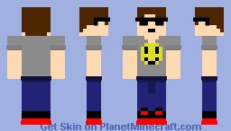 Casual 90's Minecraft Skin