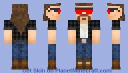 bearded boi Minecraft Skin