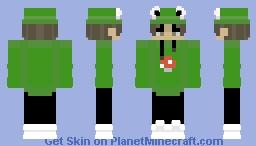Frog Eboy Minecraft Skin