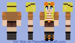 Orange Ocelots Win! (Mcc 17) Falsesymmetry (Updated) Minecraft Skin