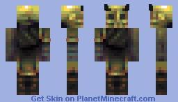 Abominable devil Minecraft Skin