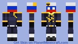 WW1 Russia CountryHuman Minecraft Skin