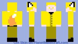 Kitsune YSG Minecraft Skin