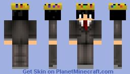 BoubWorld King Minecraft Skin