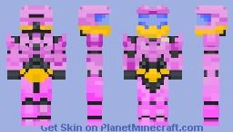 Slowbro halo spartan Minecraft Skin
