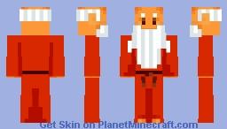 Old Man | LOZ | NES Minecraft Skin