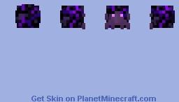 End Hermit Crab / v.2 / Crying Obsidian Minecraft Skin