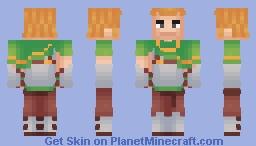 medieval warrior Minecraft Skin