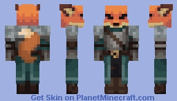 fox Minecraft Skin