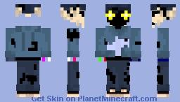 Withered tabi Minecraft Skin