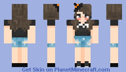 the cuttiest little witch of my life 🥰 Minecraft Skin