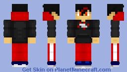 FlameBoy50 (retexture) Minecraft Skin
