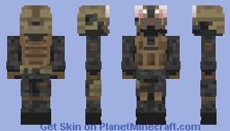 fbi but cute Minecraft Skin