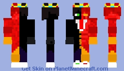 Cursed Ranboo (Curious Curses Skin Contest Entry) Minecraft Skin