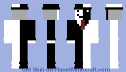 Black and White Skin (Requested Minecraft Skin