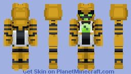 Clockwork   Ben 10 Minecraft Skin