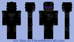 My Version of the Dark Lord Minecraft Skin